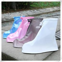 2019 Stivali da pioggia Copriscarpe impermeabili Stivali da neve da pioggia riutilizzabili Indossare copriscarpe antiscivolo resistenti per unisex di alta qualità da protettore per le scarpe fornitori