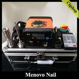 Cire d'huile de stylo de stylo de clous de stylo de Menovo Electric Dab Nab Dabbing avec la boîte de PID TC avec la bobine sans dom ? partir de fabricateur