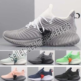 a9dc0897c 2019 New Sale AlphaBounce Beyond High marbles shark outside Running Shoes  Black Grey White Alpha Khaki bounce jogging shoes Eur 36-45