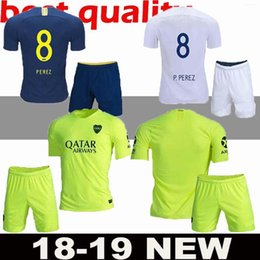 kits de uniforme de fútbol verde Rebajas 19 20 Boca Juniors Soccer Kit  2018 19 1250740f0b54d