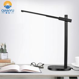 Led Touch Control Dimming Table Lamp 5w Eye-protection White Reading Us Lights & Lighting Eu Desk 100-240v Light
