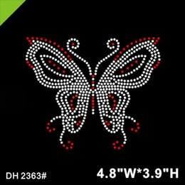Pedrería motivo perchas imagen rhinestones HotFix Butterfly