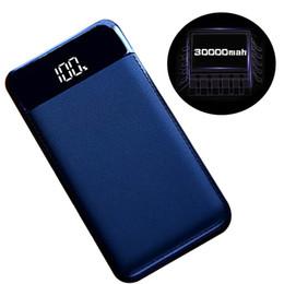 аккумуляторы мобильные iphone Скидка Оптовая для Xiaomi MI Iphone XS Max 7 8 20000 мАч Power Bank Внешняя батарея PowerBank 2 USB ЖК-дисплей Powerbank Портативное зарядное устройство для мобильного телефона