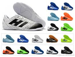 fe722eeba New Nemeziz Messi Tango 18.4 IC TF Cheap Turf Cleats 18 Mens Indoor Outdoor Soccer  Shoes Football Boots Size 6.5-11