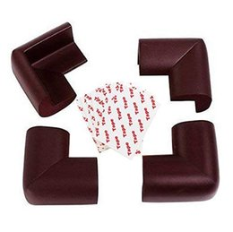 Furniture Furniture Angle Iron Leg Rubber Foot Cover Protector 44mm X 44mm 10pcs Refreshment