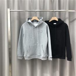 2019 militärische grüne fleecejacke 19AW Luxusmarken Design D Brief mit Kapuze Hoodie Männer Frauen Mode Kleine Logos Pullover Lässige Street Sweatshirts Outdoor-Sweatshirt