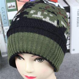 e5ac803bcf3 2019 Unisex Men Women Solid Winter Warm Unisex Baggy Warm Crochet Winter  Wool Knit Ski Beanie Skull Slouchy Caps Hat