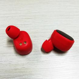 gute kopfhörer Rabatt populärer Spitzenmarke Wirelss bluetooth Doppelkopfhörer Sport-Stereokopfhörer in den Ohr-Ohrhörern mit Sockel geben Verschiffen mit guter Qualität frei