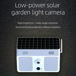 aplicación de cámara wifi al aire libre Rebajas Control de vigilancia de la aplicación de cámara inalámbrica Wifi LED 1080P HD X8 al aire libre Patio Jardín delante detrás de la puerta de energía solar de baja potencia