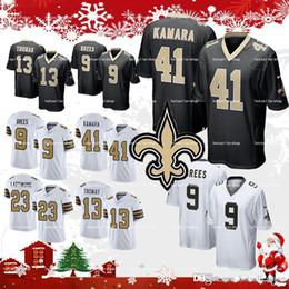 new orleans saints jersey 41 Alvin Kamara football jerseys 9 Drew Brees 23  Marshon Lattimore 13 Michael Thomas 28 Adrian Peterson cfb40db50