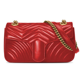 2020 фирменный кошелек сумки названия брендов Дизайнерские сумки Кошелек Карточная сумка Плечо Плед Цепная сумка Сумочка Кошелек с коробкой дешево фирменный кошелек