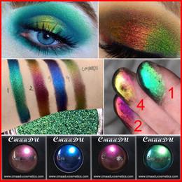 Glitter cosmetici sciolti online-CmaaDu 4 colori donne sexy affascinante glitter ombretto in polvere labbra diamantate occhi sciolti pigmento luccicante cosmetici metallici