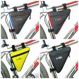 Треугольник велосипед сумка передняя рамка трубки велосипедные велосипедные сумки водонепроницаемый MTB дорожный чехол держатель седло Bicicleta велосипед аксессуары ZZA991 250PCS от