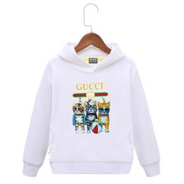 2019 kleidung kinder koreanischen marken Marke hoodie Kinder Pullover Neue Muster Jungen Mädchen Korean Edition Kinderkleidung In Even Cap babykleidung rabatt kleidung kinder koreanischen marken