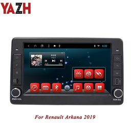 cargador de coche mercedes Rebajas Unidad principal de coche Android 8.1 en el tablero YAZH para Renault Arkana 2019 autoradio Pantalla IPS de 9.0 pulgadas 2GB RAM 32GB ROM Sin reproductor de CD CAR DVD