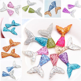 2021 русалка брелки для ключей  Resin Mermaid Tail Decoration For Mobile Phone Protector Cake Insert Card DIY Jewelry Accessories Pendant For Christmas Keychains HH9-2296