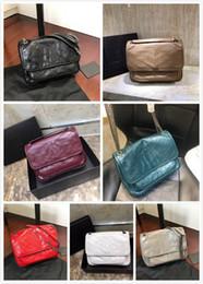 neue braune koreanische crossbody taschen Rabatt Echtes Leder Handtaschen hochwertige Marke Handtaschen Frauen Taschen Designer Crossbody Taschen Für Frauen 2019 Umhängetasche