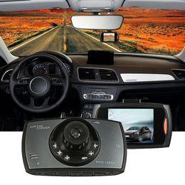 Nueva cámara portátil de conducción de automóviles HD 16: 9 LCD de visión nocturna Altavoz incorporado Detección de movimiento Video digital G-sensor Auto videocámara auto dvr desde fabricantes