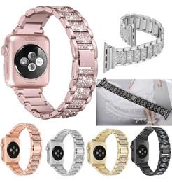 Deutschland Für Apple Watch Band 40mm 44mm 38mm 42mm Damen Diamond Band für Apple Watch Serie 4 3 2 1 iWatch Armband Edelstahlband Versorgung