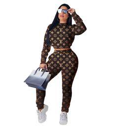2019 leggings bodysuits Frauen Designer Marke 2 Stück Set Trainingsanzug Sportswear T-Shirt Hosen Sweatsuit Ernte Top Leggings Outfits Hoodies Bodysuits Herbst Kleidung 1481 günstig leggings bodysuits