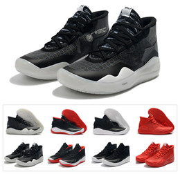 size 40 77129 b0a42 2019 Hot Mvp Kevin Durant KD 12 Anniversary University 12S XII Oreo Men  Basketball Shoes USA Elite KD12 Sport Sneakers Size 40-46