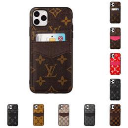 iPhone 11 Pro Max XS XR X 8 7 Artı için Samsung Note9 Note10 S8 S9 S10 Vaka PU Deri Arka Kapak ile Kart Yuvaları için lüks Telefon Kılıfı nereden