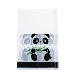 couvercle en plastique de panda Promotion 1 pcs Nappes Jetables Panda Enfants Fête D'anniversaire Fournitures Panda Couverture De Table Thème En Plastique Nappes