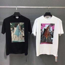 2019 CAV Vide T Shirt Handshake Casual Hommes Vêtements Couples Couverture de Dessin Animé Visage Piano Top Tees CAV Vide T-shirt Streetwear ? partir de fabricateur