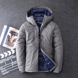 f6aa097ada60 2019 Brand Men Winter Jacket Thick Warm Clothing 70% White Duck Down Men  Down Jacket Goose Feather Parka Russian Coats