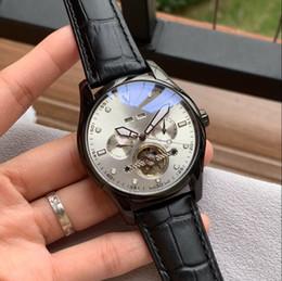 relógios shanghai Desconto Movimento mecânico SHANGHAI CASUAL automática HO anos DATA 42 MM CASE homens relógio atacado novos relógios de aço inoxidável mens