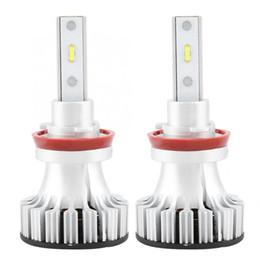 bombillas led h9 Rebajas 2 Unids Coche LED Kit de Conversión de Faros Intermitentes Luz Faros Bombillas H11 / H8 / H9 Car Styling