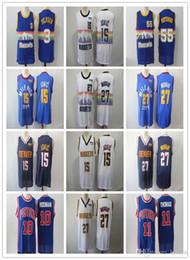 Hombres 55 Mutombo Jersey 3 Iverson 10 Rodman 11 33 Thomas colina Murray 27 15 Jokic NCAA camisetas de alta calidad desde fabricantes