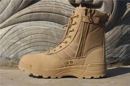 Открытый обучение специальный солдат пустыни мужчины ботильоны армия водонепроницаемый тактический от Поставщики обувь