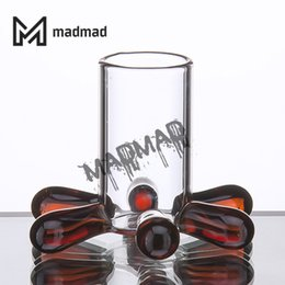 Chiodi online-Colorful Carb Cap Stand Glass Holder Bong termico Bubble Dab Nail Smoke Accessori Bong di vetro Dab Tool Oil Rigs