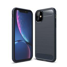 2019 rabat de couverture samsung j2 Cas en fibre de carbone pour l'iPhone 11 Pro X Xr X Max 6 7 8 6S Plus 5 SE TPU Téléphone 5S Pour Samsung S20 Ultra S10 S10e S9 plus S8 Note 10 9 8