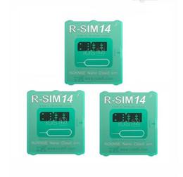 tarjetas sim de marca Rebajas Nuevo y Hot Rsim 14 la última versión Tarjeta de desbloqueo RSIM para todos los iPhone IOS 12 Desbloqueo automático 4G LTE X XS MAX