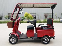 scooters électriques personnalisés Promotion 3 roues utilisé tricycle à carburant électrique passager à vendre