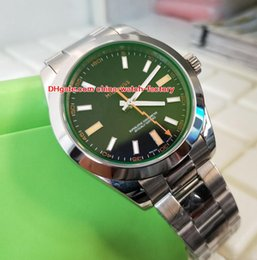 идеальный сапфир Скидка Горячие товары Perfect Edition Top Maker Asia 2813 2836 Механизм 40мм 116400 116400GV-72400 Сапфировая сталь 316L Автоматические мужские часы