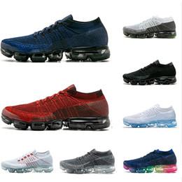 Esportes descalços on-line-Nike Air Max Sapatos Corrida Vapormax Barefoot Sneakers Macios das mulheres dos homens Respirável Esporte Atlético Sapatos Corss Caminhadas Jogging Meia Sapato Frete Grátis 36-45