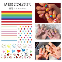 design de mode artistique Promotion NA051 Or 3d Designs Nail Art Autocollants Stickers Manucure Décor Outils DIY Nail Art Conseils Accessoires De Mode