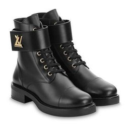 Europa und die Vereinigten Staaten 2019 Herbst und Winter New Vintage Leder Martin Stiefel Alte Blume kurze Stiefel Damen Stiefel Thick