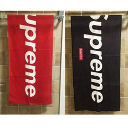 Équipement de sport en Ligne-serviette sup rouge noir 14FW SUP serviettes équipement pour la natation gym sport equipment