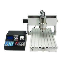 2019 cabeças de caneta a laser 30 * 20 mini máquina CNC gravador 3020 800W 3 eixo 4 eixo, para trabalhar madeira DIY gravura PCB de metal