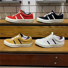 sneakers bar Sconti 2019 New Fashion Originals Classic 1970 Scarpe skate in tela JACK STAR STARBARS J SUEDE Scarpe da ginnastica casual skate Scarpe vintage vulcanizzate