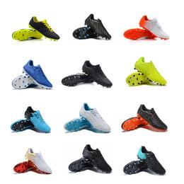 2019 scarpe tiempo 2019 Nuovi uomini TimpoX Finale TF scarpe da calcio terreni morbidi Ronald Neyma scarpe da calcio a buon mercato Tiempo Legend VII MD Tacchetti da calcio indoor
