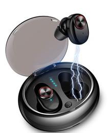 V5 TWS Auricolare Bluetooth 5.0 Cuffie senza fili Stereo Microfono incorporato Chiamate in vivavoce Mini auricolari Auricolare Bluetooth 1 pz da