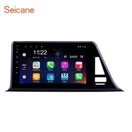 Canada 9 pouces Android 8.1 HD Écran Tactile GPS Autoradio Navi Car pour 2016-2018 Toyota C-HR LHD avec support Bluetooth TV Numérique Caméra de recul Offre