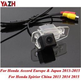 euro cars Coupons - YAZH For Accord Euro Spirior 2013 2014 2015 HD CCD Rear View Camera Car Reverse Backup Cam Waterproof Night Vision