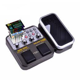 Canada Processeur de pédale multi-effets de pédale de guitare NUX MG-100 58 Modèles d'effets Boîte à rythmes boucle 20 secondes 8 supplier pedal loop effect Offre