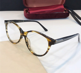Nova Moda Designer De Luxo Vidros Ópticos 0379O Quadro Olho De Gato Óculos  Simples atmosfera Estilo Óculos Best selling Vem com o caso 0379 b512b400fe